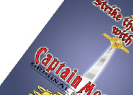 Captain Morgans Illustrated Poster