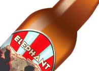 Elepant Ale Label Design