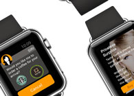 MasterCard Smart Watch Screens