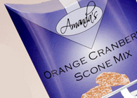 Amandas Scone Mix Package Design