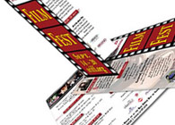 Santa Rosa International Film Festival Rack Card
