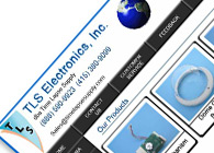 TLS Electronics Website Template Design